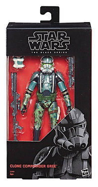 "Star Wars Black Series: Clone Commander Gree 6"" Figure"