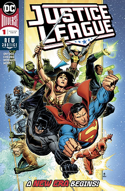Justice League 6 Issue Subscription