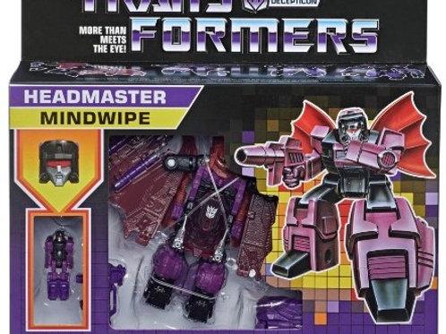 Transformers: Mindwipe Deluxe Headmaster G1 Retro Rerelease