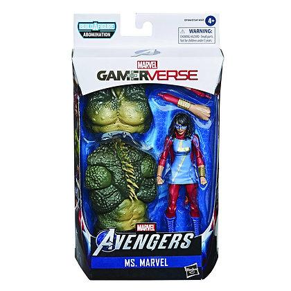 Marvel - Ms. Marvel/Kamala Khan (Gamerverse Legends) Action Figure