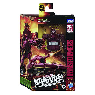 Transformers WFC Kingdom: Warpath (Deluxe Class)