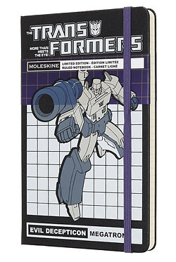 Transformers (Megatron) Ltd Ed Moleskine Notebook