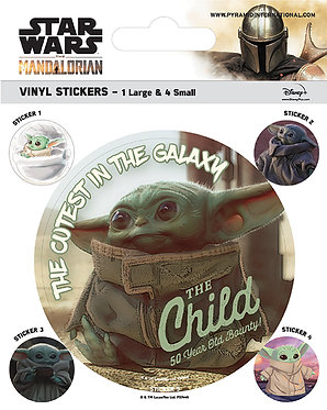 Star Wars: The Child Vinyl Stickers
