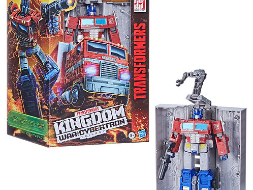 Transformers WFC Kingdom: Optimus Prime (Leader Class)