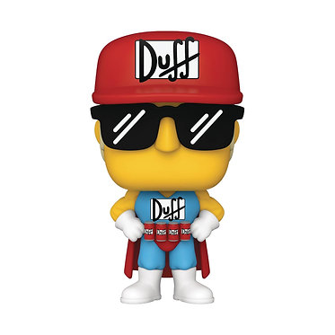 The Simpsons: Duffman Pop! Figure