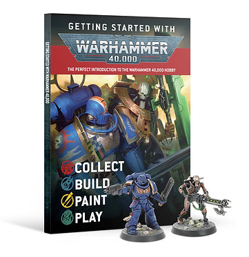 Getting Started with Warhammer 40,000 Magazine & Miniatures