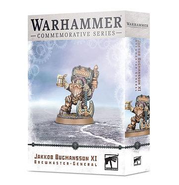 Warhammer Commemorative: Jakkob Bugmansson XI Brewmaster-General (84-43)