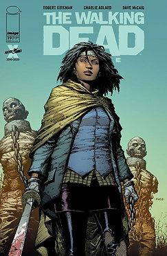 The Walking Dead Deluxe #19 Finch Cover