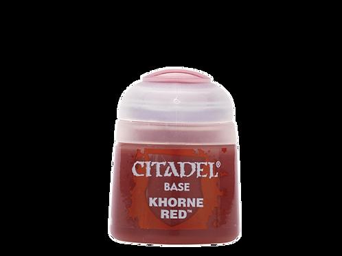 Citadel Base: Khorne Red (21-04)