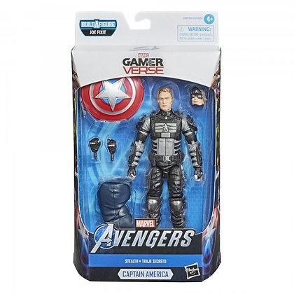 Marvel - Stealth Captain America (Gamerverse Legends) Action Figure