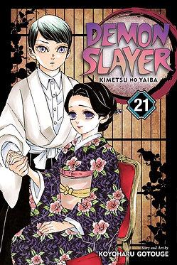 Demon Slayer: Kimetsu no Yaiba Vol. 21