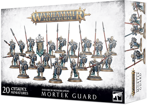 Warhammer Age of Sigmar: Ossiarch Bonereapers Mortek Guard (94-25)