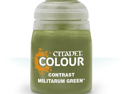 Citadel Contrast: Militarum Green (29-24)