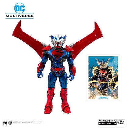 DC - Superman (Unchained Armor) Action Figure