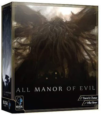 All Manor of Evil Card Game