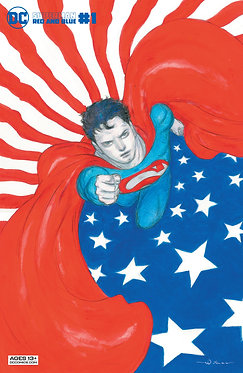 Superman: Red and Blue #1 Yoshitaka Amano Variant