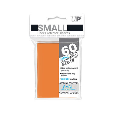 Orange Small Deck Protector Sleeves 60-Pack (Ultra Pro)