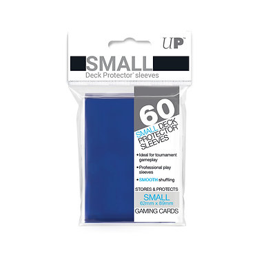 Blue Small Deck Protector Sleeves 60-Pack (Ultra Pro)