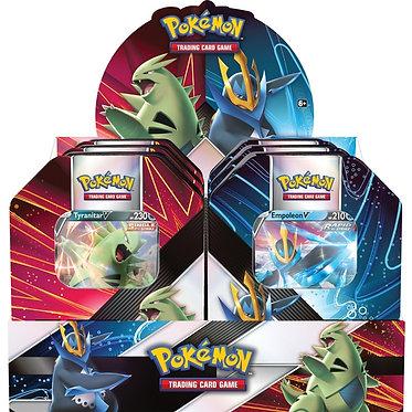 Pokémon: V Strikers Tin (Tyranitar, Empoleon)