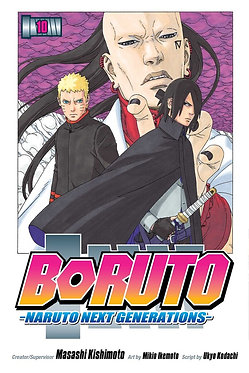 Boruto: Naruto Next Generations Vol. 10