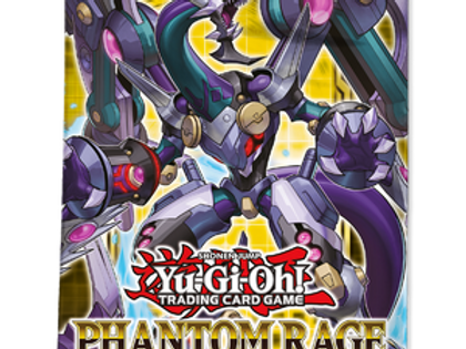 Yu-Gi-Oh!: Phantom Rage Booster Pack (1st Edition)