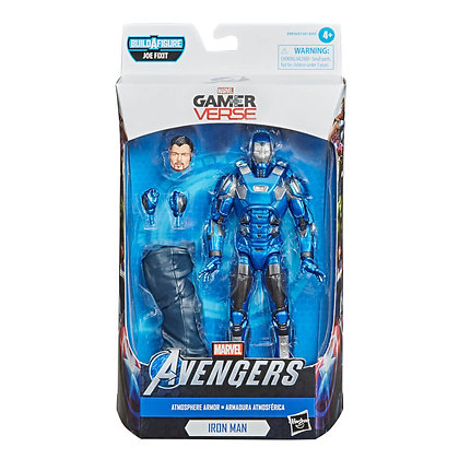 Marvel - Iron Man Atmosphere Armor (Gamerverse Legends) Action Figure
