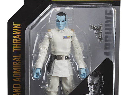"Star Wars Black Series Archives: Grand Admiral Thrawn 6"" Figure"