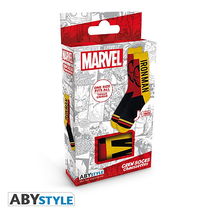 Marvel: Iron Man Crew Socks