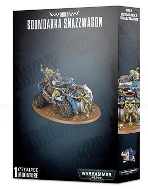 Warhammer 40K: Orks Boomdakka Snazzwagon (50-39)