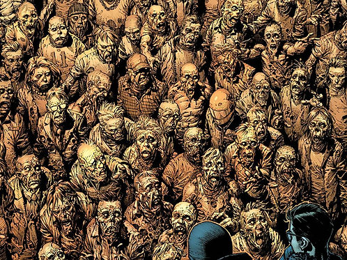 Walking Dead Deluxe #9 Cover A - Finch & McCaig