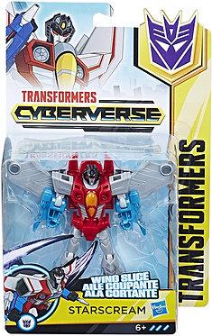 Transformers Cyberverse: Starscream (Warrior Class)