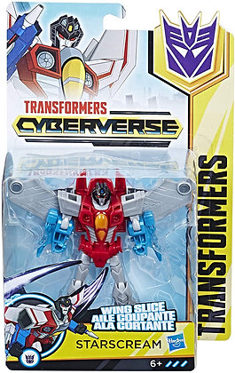 Transformers Cyberverse: Starscream (Warrior Class)