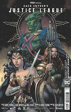 Justice League #59 Jim Lee Snyder Cut Variant