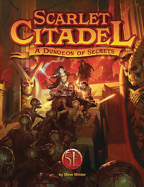Scarlet Citadel: A Dungeon of Secrets (D&D 5e)