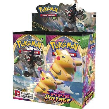 Pokémon Sword & Shield: Vivid Voltage Booster Box