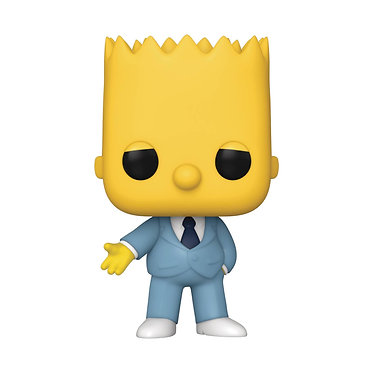 The Simpsons: Bart (Mafia) Pop! Figure