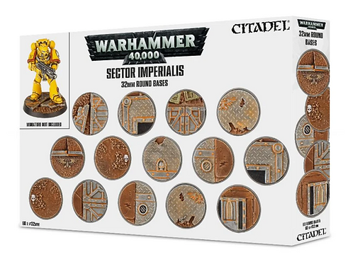 Citadel: Sector Imperialis 32mm Round Bases (66-91)