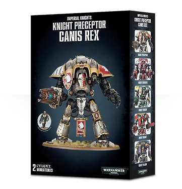 Warhammer 40K: Imperial Knights Knight Preceptor Canis Rex (54-15)