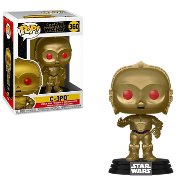 Funko Pop!: C-3PO (Red Eyes)