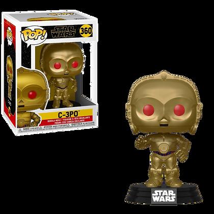 Funko Pop!: C-3PO (Red Eyes)