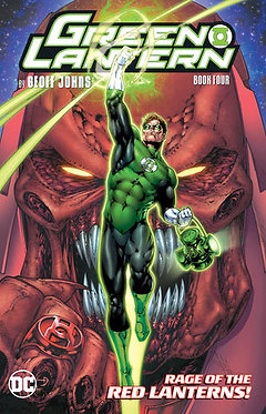 Green Lantern by Geoff Johns Book 4