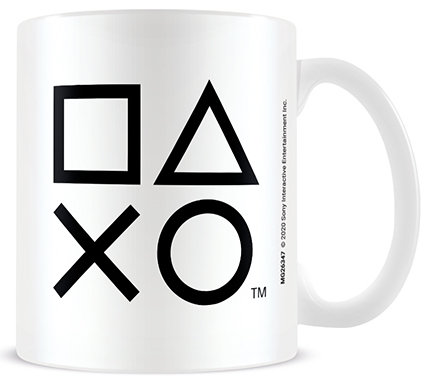 Playstation Symbols Mug