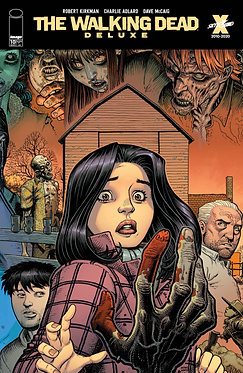 The Walking Dead Deluxe #10 Adams & McCaig Cover