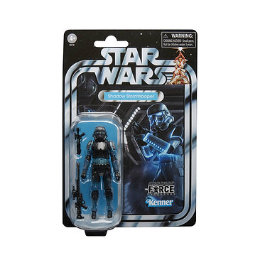 """Star Wars Vintage Collection: Shadow Stormtrooper (Force Unleashed) 3.75"""" Figure"""