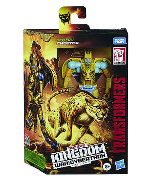 Transformers WFC Kingdom: Cheetor (Deluxe Class)