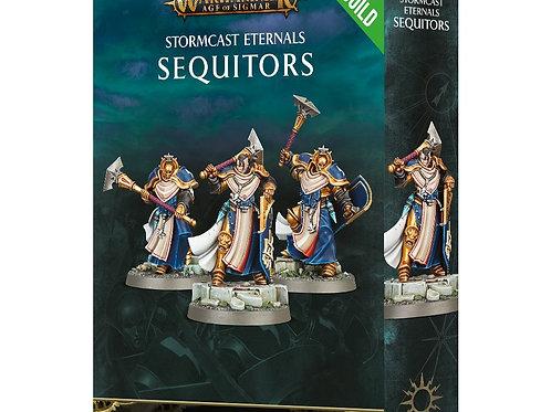 Warhammer Age of Sigmar: Stormcast Eternals Sequitors (71-09) (Easy To Build)