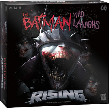 The Batman Who Laughs Rising Board Game
