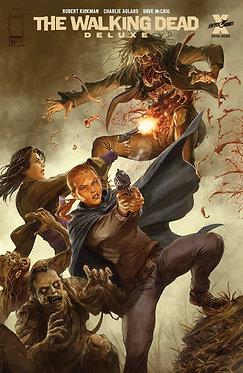The Walking Dead Deluxe #14 Rapoza Cover