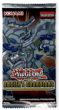 Yu-Gi-Oh!: Ancient Guardians Booster Pack (1st Edition)