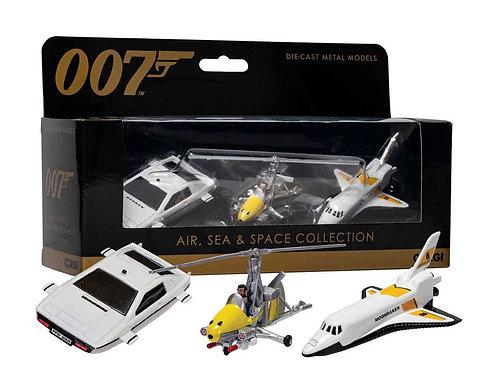 James Bond Collection (Space Shuttle, Little Nellie, Lotus Esprit) by Corgi
